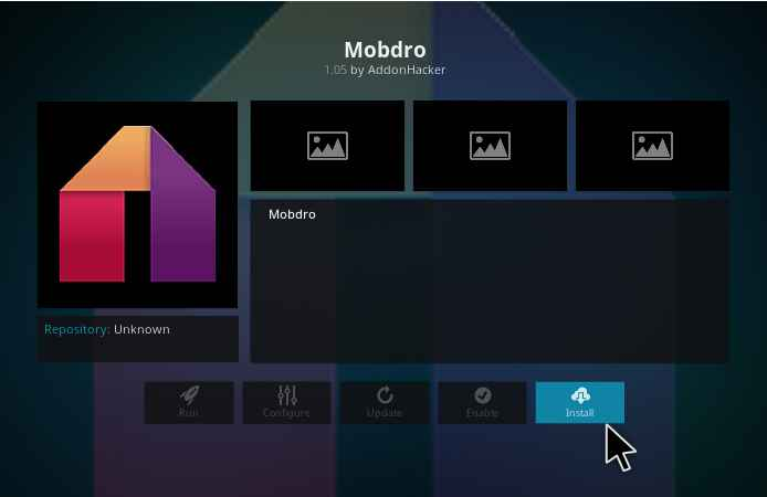 mobdro on kodi