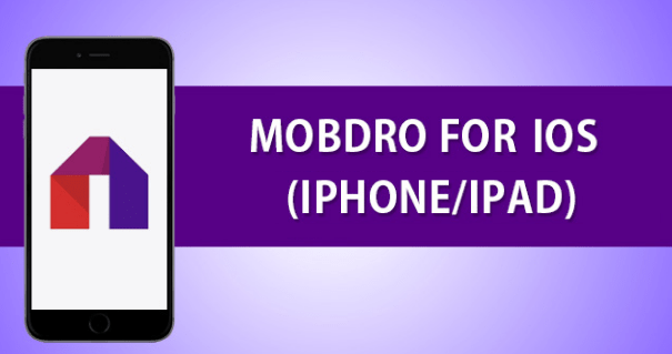 Mobdro on iOS